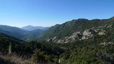 Looking south towards Tassajara