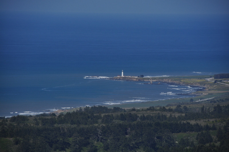 Pigeon Point Lighthouse from the Upper View