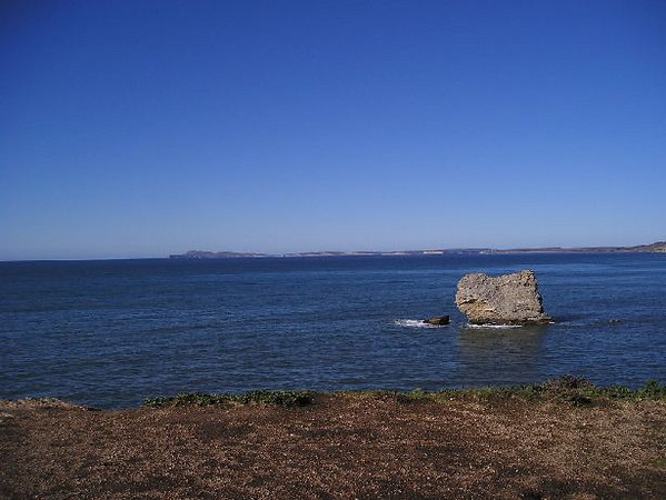 View from Arch Rock