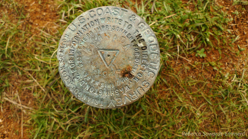 The Benchmark on top of Wilson is labelled La Canada (this alternate name also appears on topo maps)