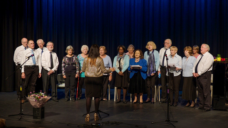 Singing For Lung Health Maidenhead group singing What A Wonderful World