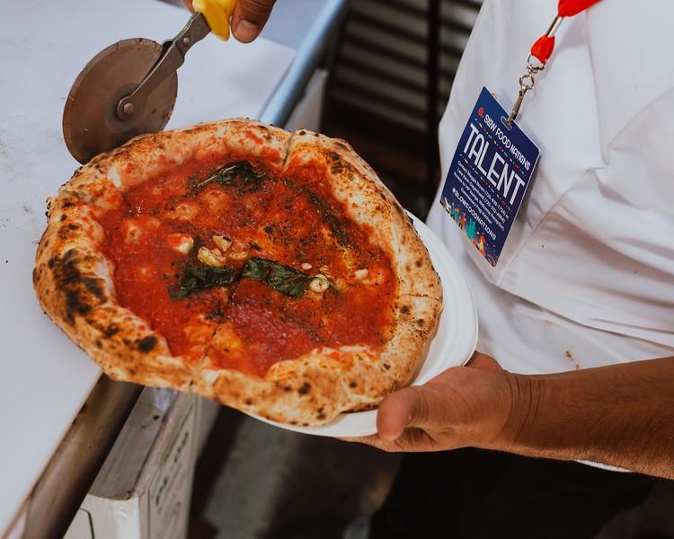 Neapolitan Pizza at the Italian Cucina