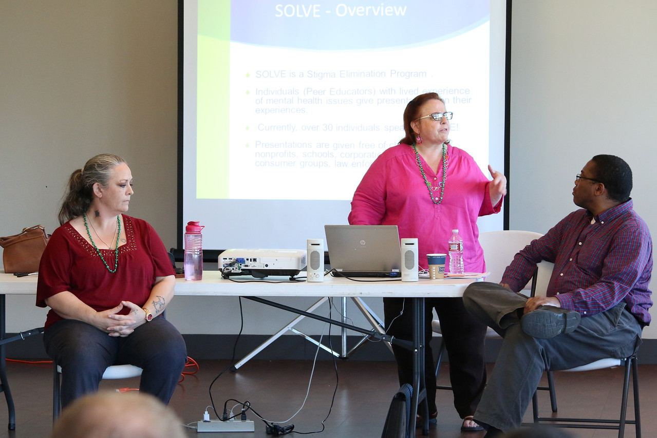 Terri Byrne, Mental Health Recovery Program Manager, Mental Health Association of San Francisco.