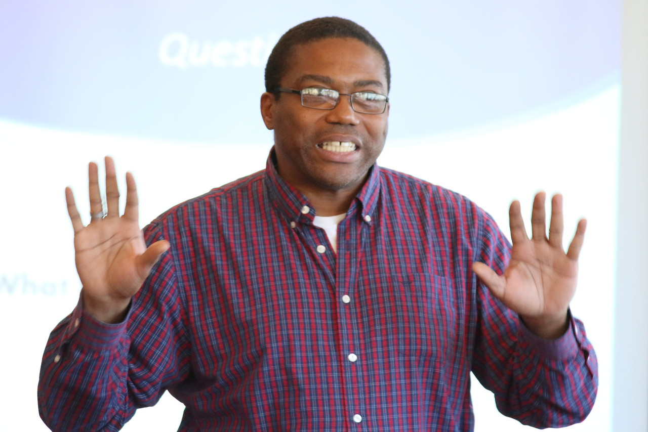 Derrick Williams, SOLVE Peer Facilitator, Mental Health Association of San Francisco.