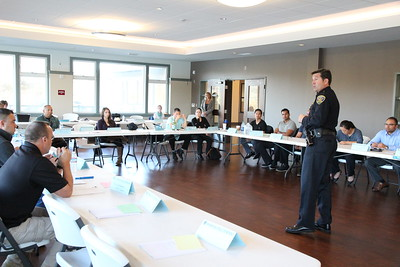 SFPD Commander Robert O'Sullivan, in charge of the San Francisco Police Department's Crisis Intervention Team (CIT) Training program.