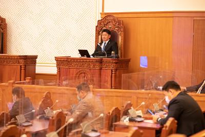 2021 оны нэгдүгээр сарын 21. Төрийн байгуулалтын байнгын хороо Монгол Улсын Ерөнхий сайдыг огцрохыг дэмжсэн.  Чуулганы нэгдсэн хуралдаанд байнгын хорооны санал дүгнэлтээр гар өргөн санал хураалт явуулахад гишүүдийн 95.2 хувийн саналаар Монгол Улсын 31 дэх Ерөнхий сайд У.Хүрэлсүхийг огцрохыг дэмжлээ. ГЭРЭЛ ЗУРГИЙГ Б.БЯМБА-ОЧИР/MPA