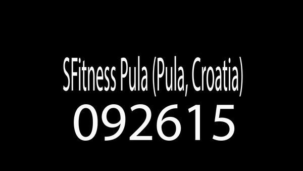 SFitness Pula (Pula, Croatia) 092615
