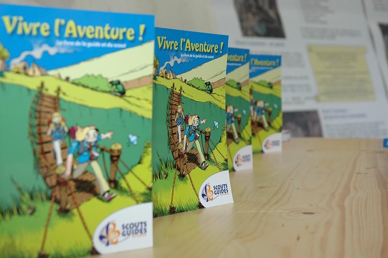 Scouts Guides et Vivre l'Aventure