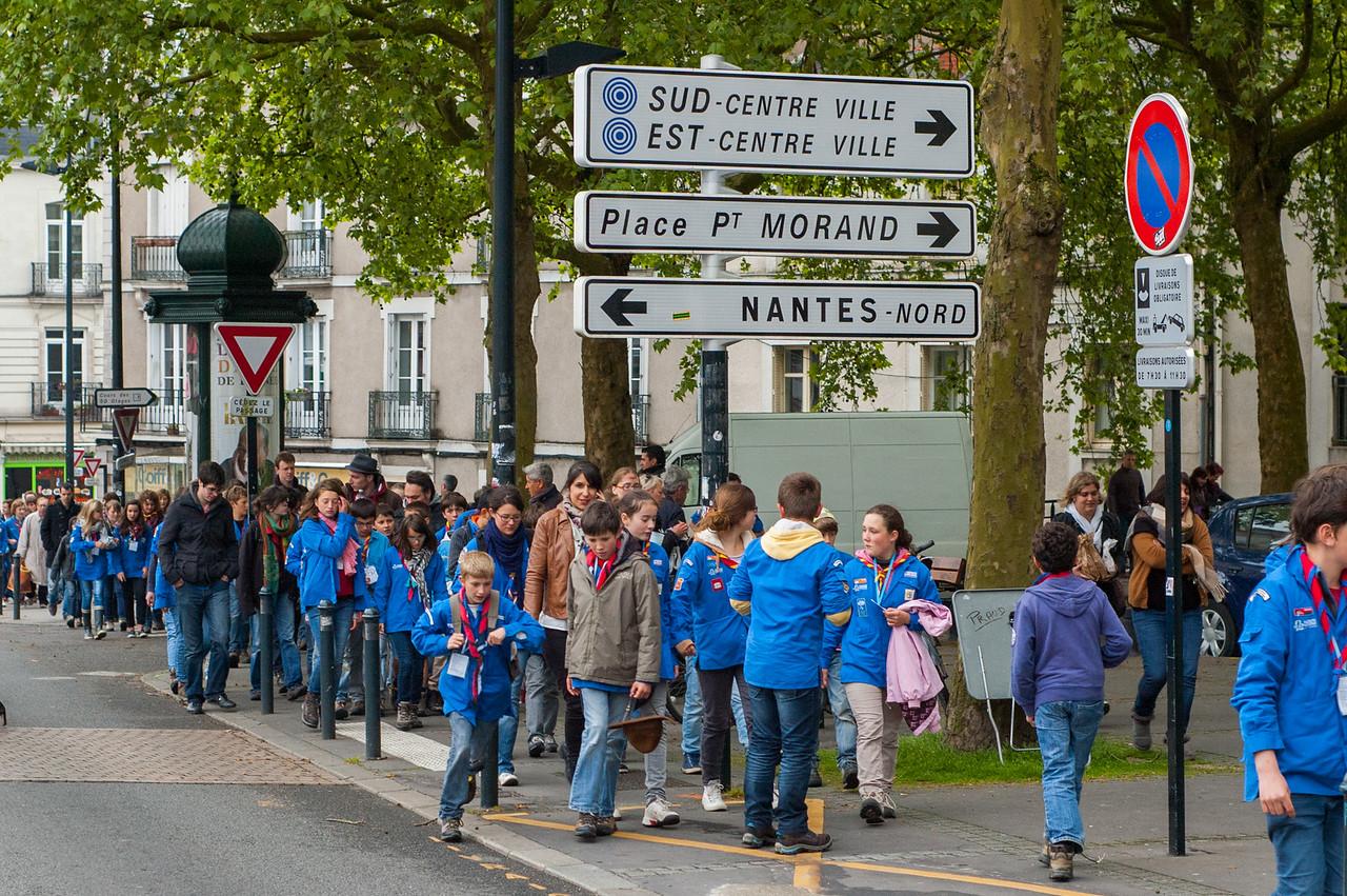 Le grand jeu dans Nantes