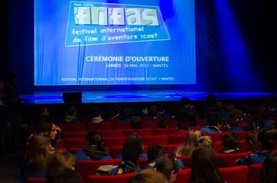 L'ouverture du festival