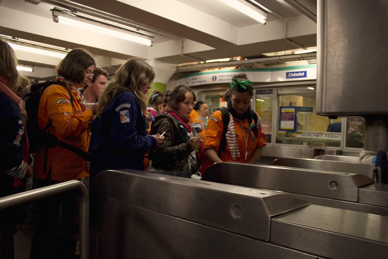 A la découverte du métro