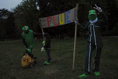 Manifestation des grenouilles