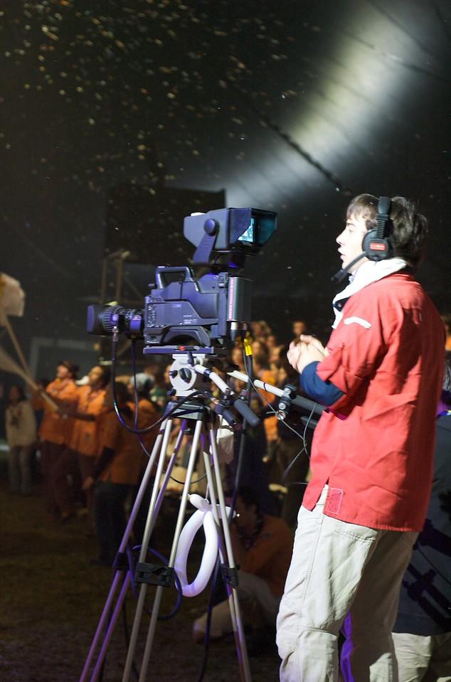 Coulisses du chapiteau : Camera