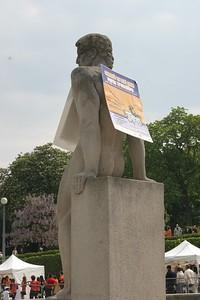 Statue de la fraternité
