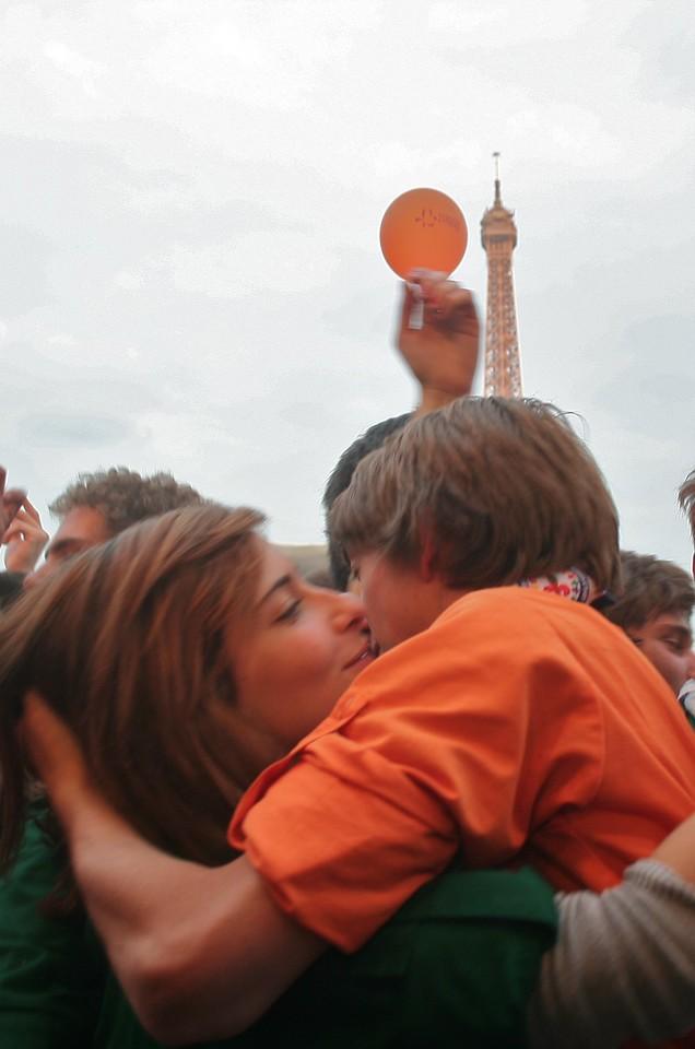 Love in Paris !