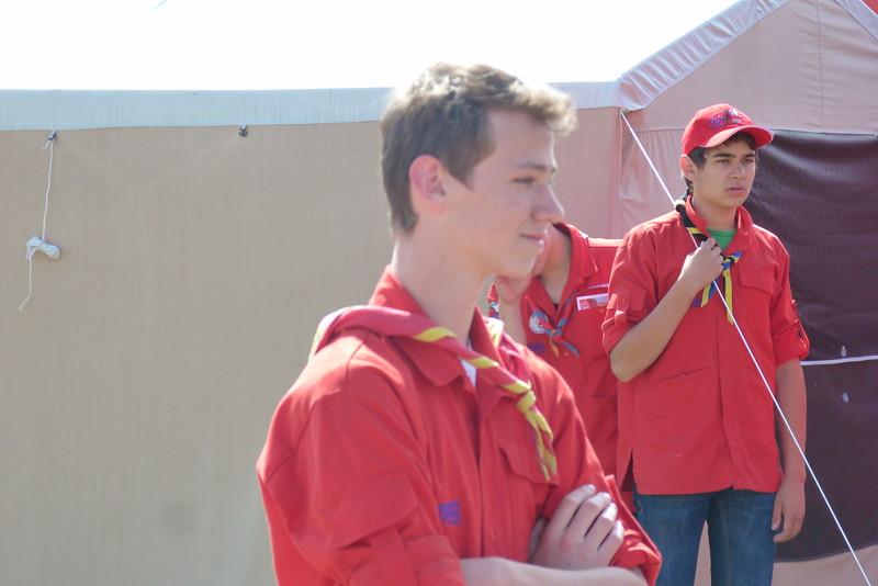 Briefing du service piste