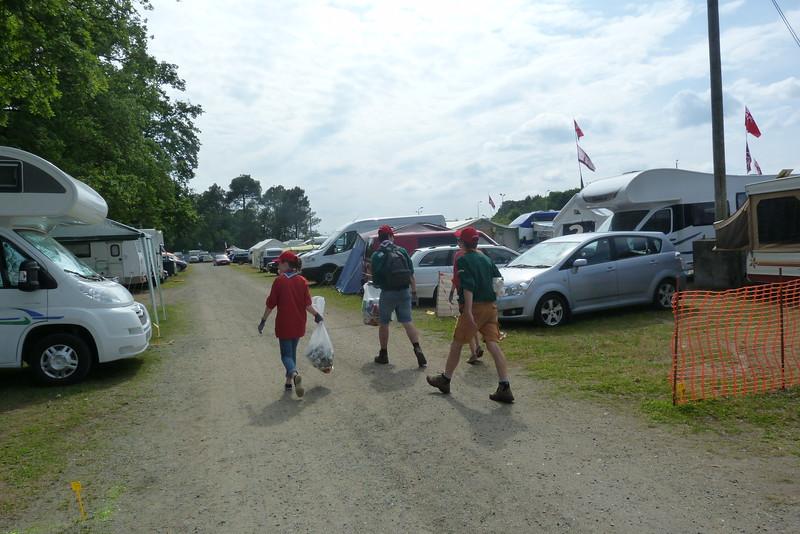 Marée verte : nettoyage des campings