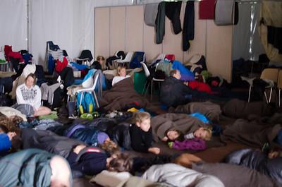 Le camp de réfugiés