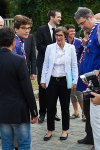 Visite de Mme La Ministre