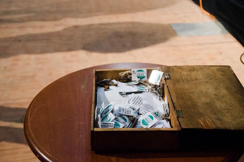 Les clefs distribuées à la messe