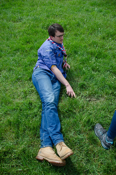 Chill sur l'herbe