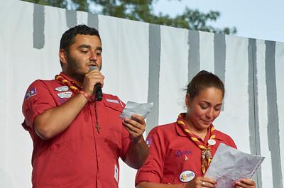 Les scouts araméens chantent à leur tour