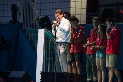 Patrick Kanner lors du discours