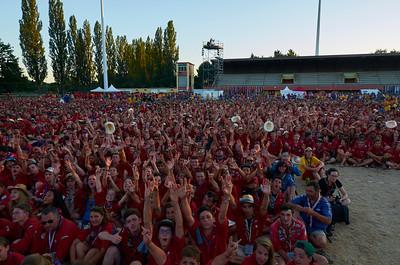 La foule de piosK