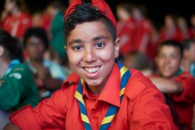 Le scout marocain est beau. On ne vous l'a jamais dit ?