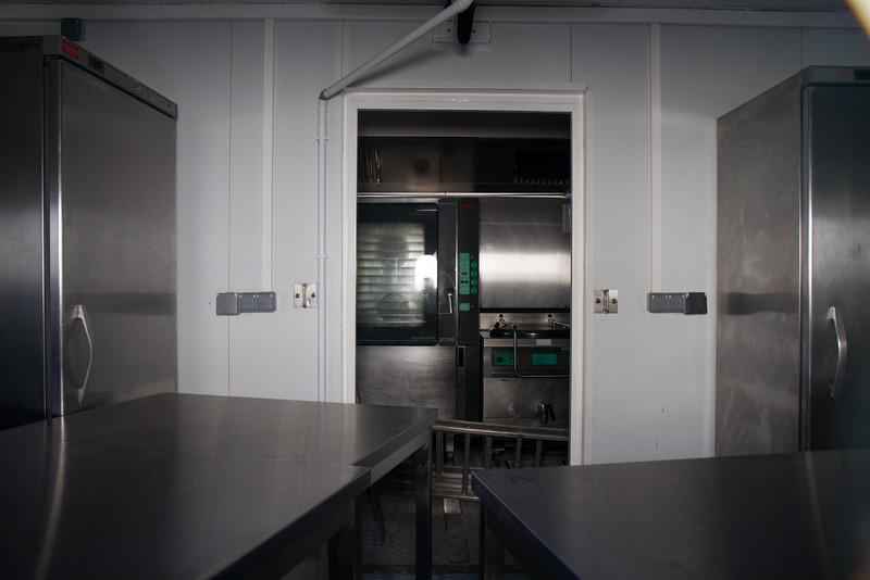La cuisine centrale pour les équipes de service