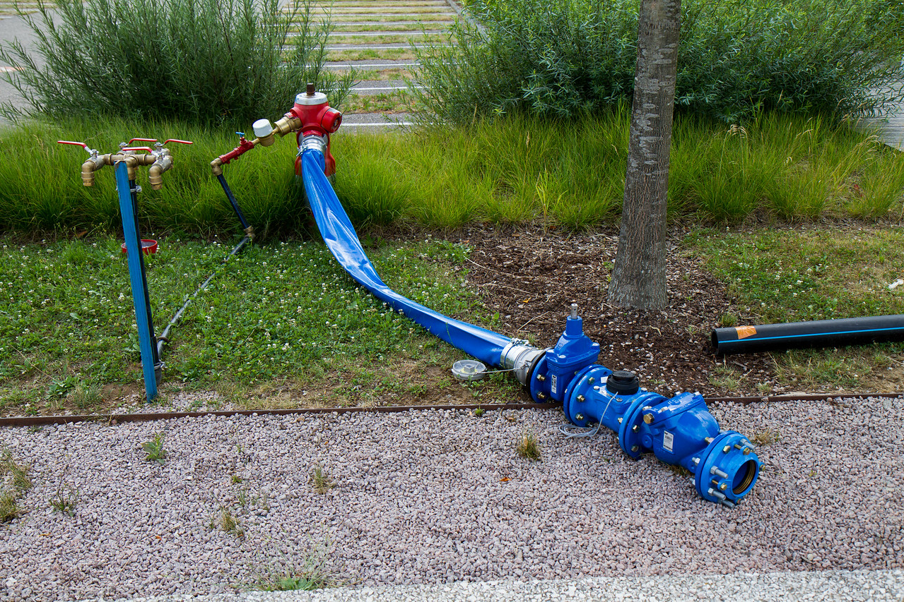 Un des 2 points principaux l'alimentation en eau