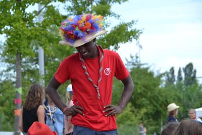 Le chapeau de BG