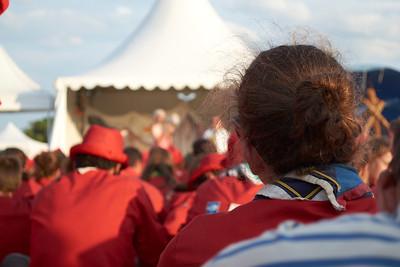 19 juillet : rassemblement au podium
