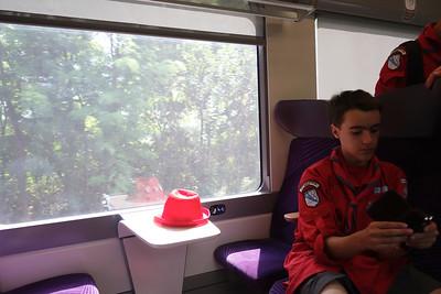 19 juillet : train