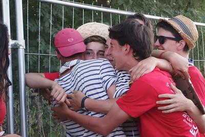 17 juillet : temps libre free hugs !