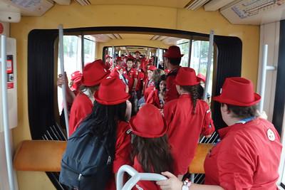 19 juillet : tramway scout