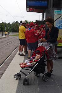 19 juillet : tramway avec les locaux