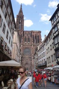 19 juillet : Strasbourg et sa cathédrale