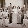 SGT. First Class Philip Toland, the tall one, on his wedding day with his wife Yvette. Toland was a veteran of WWII and was a POW in the Bataan Death March. The two men on the left Nick Pelligrino and Tony Cassanova where captured with him during the Bataan Death March. SENTINEL & ENTERPRISE/JOHN LOVE