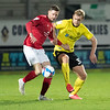 Picture: Richard Burley/Epic Action Imagery <br /> <br /> Burton Albion v Crewe Alexandra - SkyBet League One - 05/12/2020<br /> <br /> Pictured: Sam Hughes (Burton Albion) in defensive action during the SkyBet League 1  match between Burton Albion and Crewe Alexandra at the Pirelli Stadium on Saturday 5th December  2020.