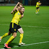 Picture: Richard Burley/Epic Action Imagery <br /> <br /> Burton Albion v Charlton Athletic - SkyBet League One - 24/11/2020<br /> <br /> Pictured: Stephen Quinn (Burton Albion) and Sam Hughes (Burton Albion) celebrate the 3rd goal during the SkyBet League 1  match between Burton Albion and Charlton Athletic at the Pirelli Stadium on Tuesday 24th November 2020.
