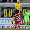 Picture: Richard Burley/ Epic Action Imagery<br /> <br /> Burton Albion v Doncaster Rovers- SkyBet League One - 19/12/2020<br /> <br /> Pictured: Sam Hughes (Burton Albion) climbs above Reece James (Doncaster Rovers) to win a header during the SkyBet League One match between Burton Albion and Doncaster Rovers at the Pirelli Stadium on Saturday 19th December 2020.