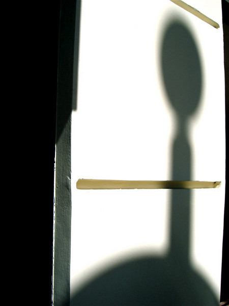 sometimes a shadow is just a shadow...