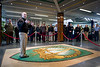 On the 21st of March, Supreme Allied Commander Europe, Admiral James Stavridis, gives remarks to inaugurate an historical exhibition about the origins of Supreme Headquarters Allied Power Europe at SHAPE, Belgium.<br /> NATO photo by ADJ Edouard Bocquet, French Air Force.
