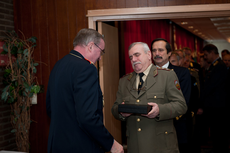 121210 - COS Reception (SHAPE-Club) on the 10th of December 2012. (NATO photo by Ger.Army Sgt. Emily Langer)