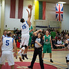 Lithuania plays against Italy during the final of International Basketball Tournament at Supreme Headquarters Allied Power Europe in Mons, Belgium. Nov 30, 2013.<br /> NATO photo by ADJ Edouard Bocquet, FRA AF.