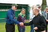 sACEUR presents coins to High School Athletes
