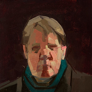 Self-portrait in turtleneck