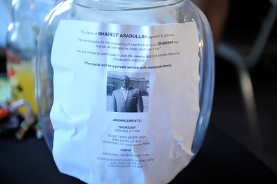 SHAREEF ASADULLAH MEMORIAL SERVICE AND CELEBRATION ON SEPTEMBER  9, 2016.  PHOTOS BY VALERIE GOODLOE