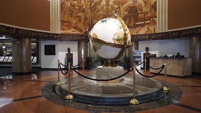 "LA Times ""Planet"" Lobby"